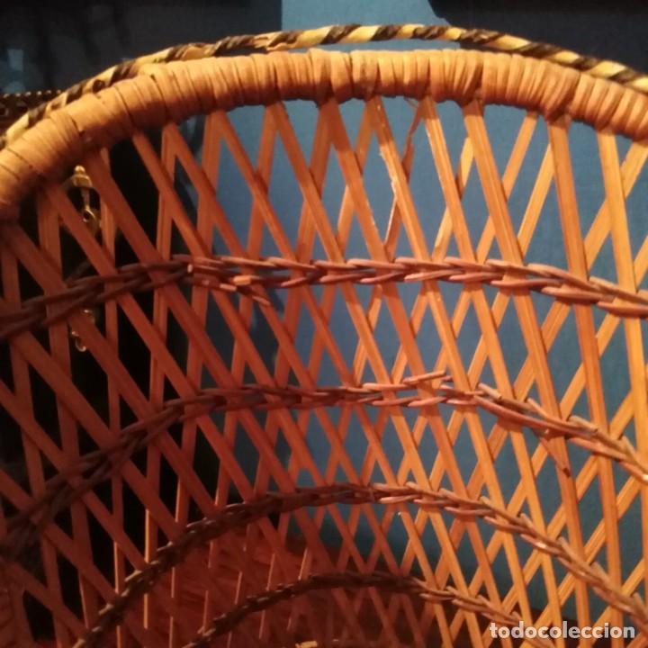 Vestidos Muñecas Españolas: Antiguos sillones de muñecas, siglo xix. - Foto 14 - 228940130