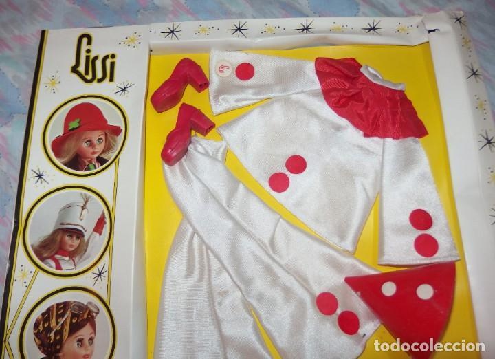 Vestidos Muñecas Españolas: CONJUNTO PIERROT,PAYASO,LISSI,GUILLEM Y VICEDO,CAJA ORIGINAL,A ESTRENAR - Foto 2 - 230744050