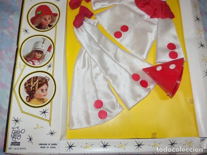 Vestidos Muñecas Españolas: CONJUNTO PIERROT,PAYASO,LISSI,GUILLEM Y VICEDO,CAJA ORIGINAL,A ESTRENAR - Foto 3 - 230744050