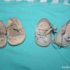 Vestidos Bonecas Espanholas: ANTIGUOS ZAPATOS DE MUÑECA. Lote 233086430