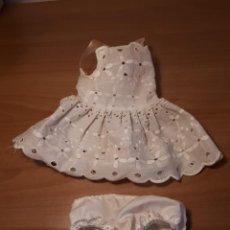 Vestidos Bonecas Espanholas: VESTIDO Y BRAGUITAS NENUCO DE FAMOSA ORIGINAL AÑOS 70. Lote 233876620