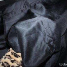 Vestidos Muñecas Españolas: HERMOSA TELA CETIN NEGRO - PARA ROPAS/ACESSORIOS EN MUÑECAS - 2,17MTX87CM (T82). Lote 246248310