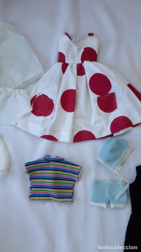 Vestidos Muñecas Españolas: LOTE DE ROPA Y ACCESORIOS MUÑECAS AÑOS 70 - Foto 3 - 247004155