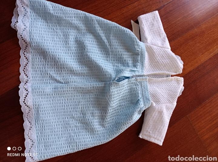 Vestidos Muñecas Españolas: Faldón antiguo famosa marcado con etiqueta 43 - Foto 2 - 247095155