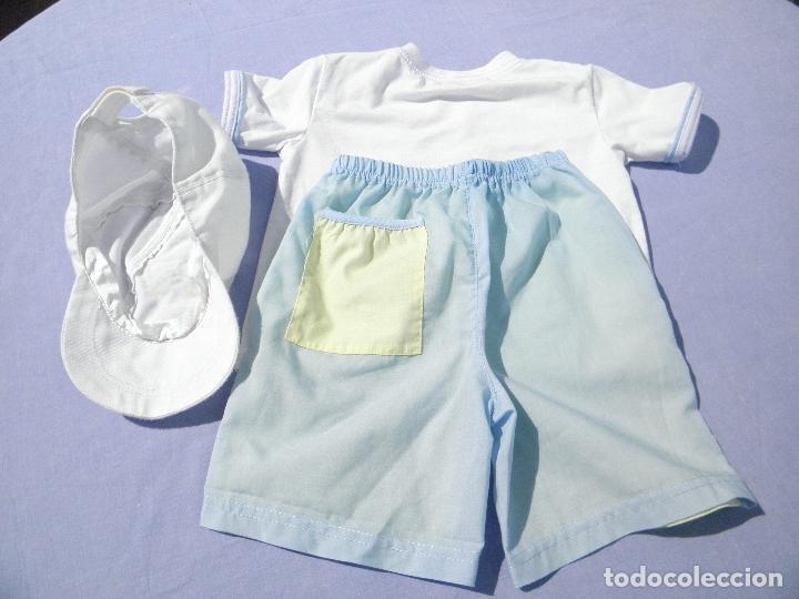 Vestidos Muñecas Españolas: Conjunto original del muñeco de colección Tommy de Susan Lipl - Foto 2 - 253574785