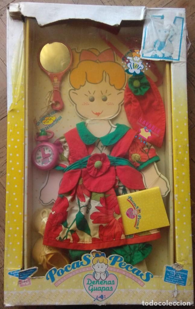 Vestidos Muñecas Españolas: Vestido colección Agatha Ruiz de la Prada Pocas Pecas de Feber años 90 con accesorios - Foto 4 - 262753110