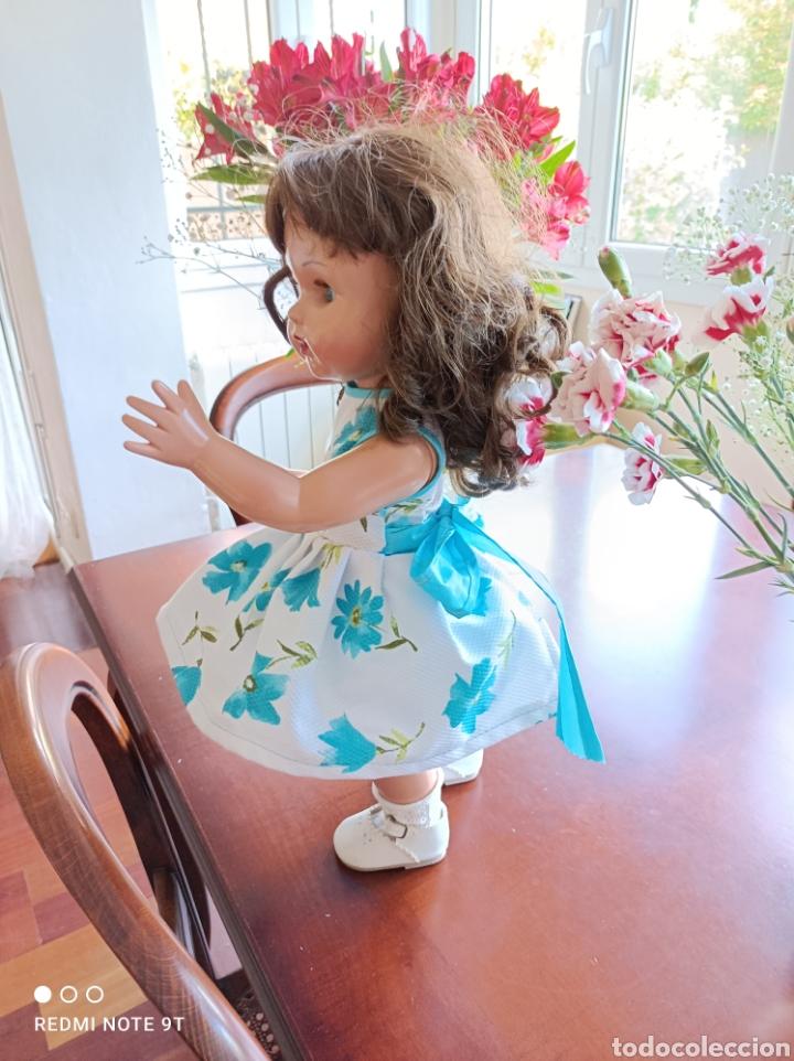 Vestidos Muñecas Españolas: Vestido cancán y capota para muñeca Mariquita Perez - Foto 3 - 262878950