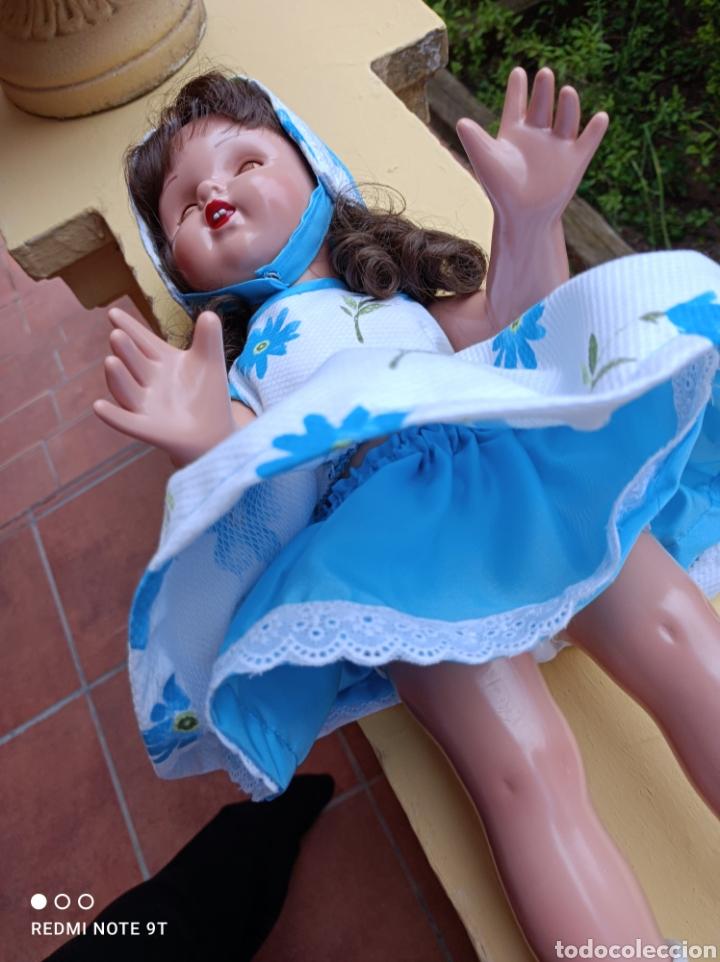 Vestidos Muñecas Españolas: Vestido cancán y capota para muñeca Mariquita Perez - Foto 4 - 262878950