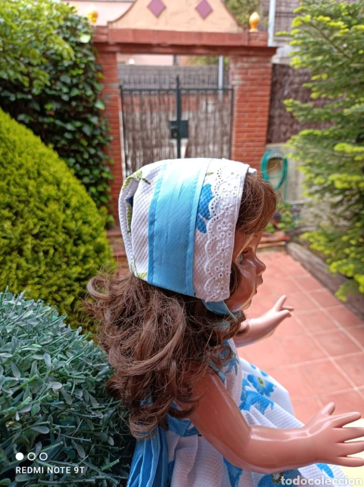 Vestidos Muñecas Españolas: Vestido cancán y capota para muñeca Mariquita Perez - Foto 6 - 262878950