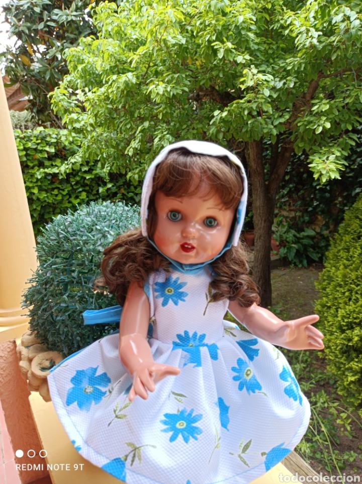 Vestidos Muñecas Españolas: Vestido cancán y capota para muñeca Mariquita Perez - Foto 8 - 262878950