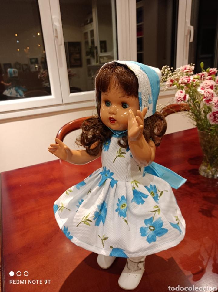 Vestidos Muñecas Españolas: Vestido cancán y capota para muñeca Mariquita Perez - Foto 2 - 262878950