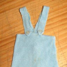Vestidos Muñecas Españolas: ANTIGUO BODY O PETO PARA MUÑECO - AÑOS 60/70 - NUEVO, SIN USO - NENUCO, MOCOSETE O SIMILAR. Lote 262969395