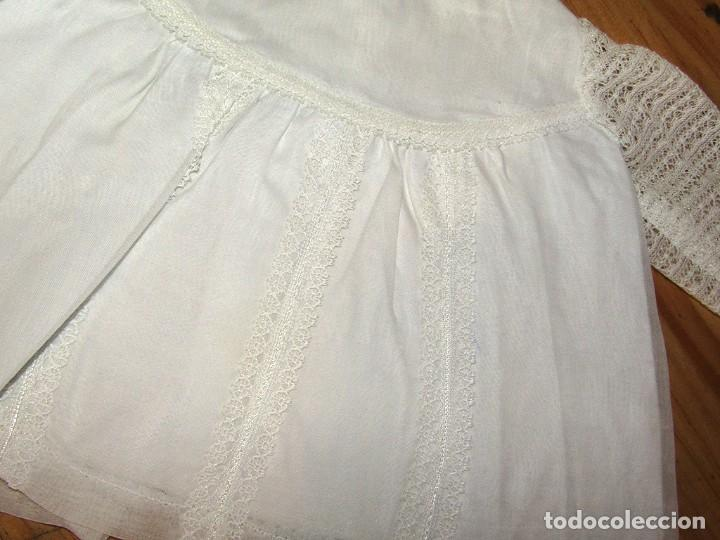 Vestidos Muñecas Españolas: ANTIGUO CONJUNTO DE VESTIDO Y GORRO PARA MUÑECO TIPO NENUCO O SIMILAR - AÑOS 60 - Foto 3 - 263037385