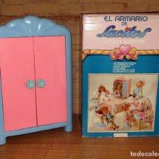 Vestidos Muñecas Españolas: ANTIGUO ARMARIO MUÑECA LACITOS, DE JESMAR - NUEVO A ESTRENAR - AÑO 1990 - EN SU CAJA - FUNCIONANDO. Lote 263637610