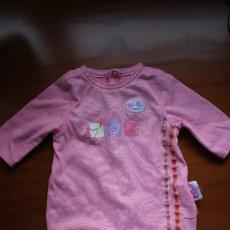 Vestidos Muñecas Españolas: PIJAMA ORIGINAL DE BABY BORN. VÁLIDO PARA NENUCA.. Lote 269975203