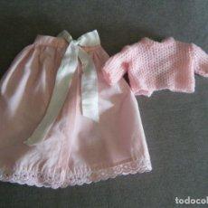Vestiti Bambole Spagnole: CONJUNTO DE FALDON ROSA Y JERSEY DE BABY MOCOSETE DE TOYSE. Lote 272468573