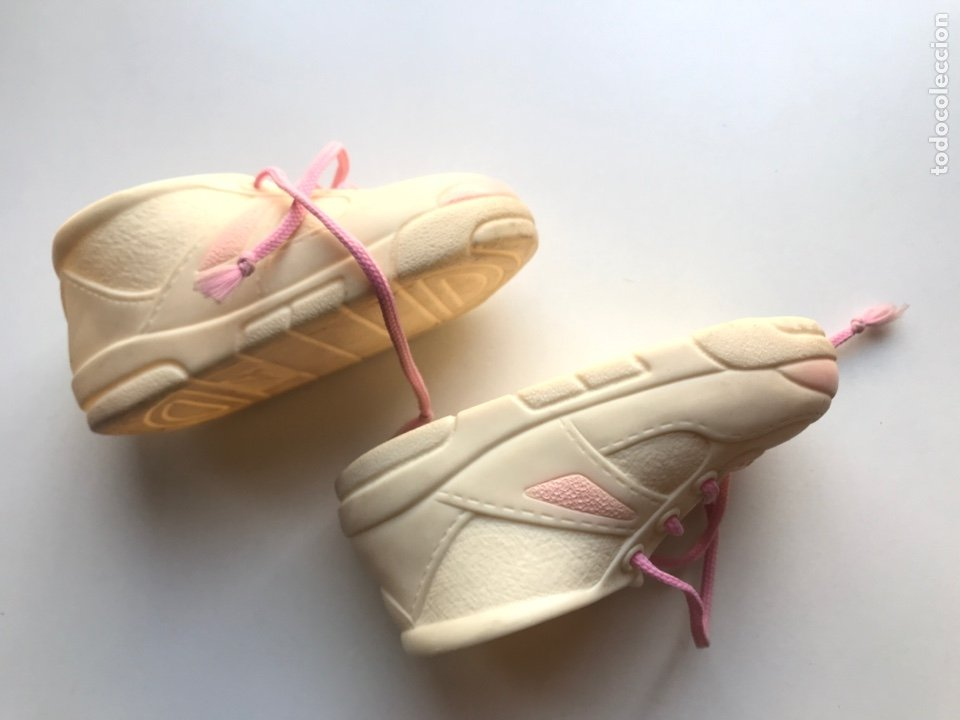 Vestidos Muñecas Españolas: Envio 8€. Zapatos muñeca grande de los 90. Mide14cm de JESMAR - Foto 3 - 272632393