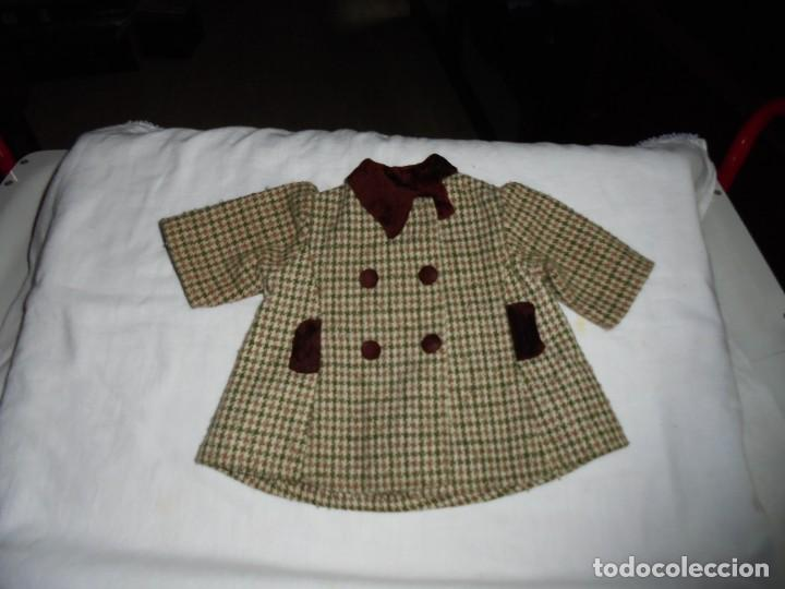 ABRIGO BABY MOCOSETE DE TOYSE AÑOS 70 (Juguetes - Vestidos y Accesorios Muñeca Española Moderna)