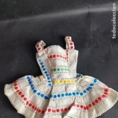 Vestidos Muñecas Españolas: VESTIDO MUÑECA MANIQUI FAMOSA - PIERINA AÑOS 60. Lote 278604908
