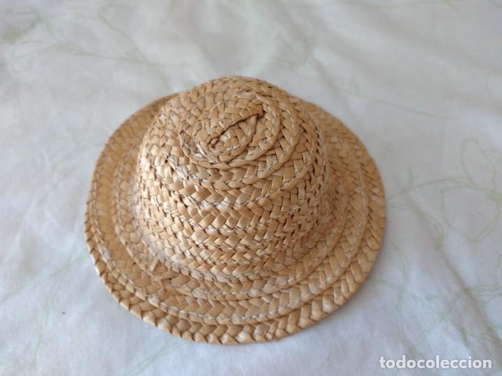Vestidos Muñecas Españolas: Antiguo gorro de paja para nancy o similares. - Foto 2 - 288303413