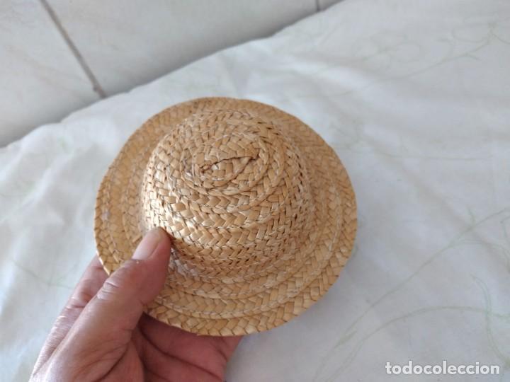 Vestidos Muñecas Españolas: Antiguo gorro de paja para nancy o similares. - Foto 5 - 288303413