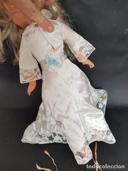 Vestidos Muñecas Españolas: Lote de vestidos caseros años 70 para nancy - Foto 11 - 289753693