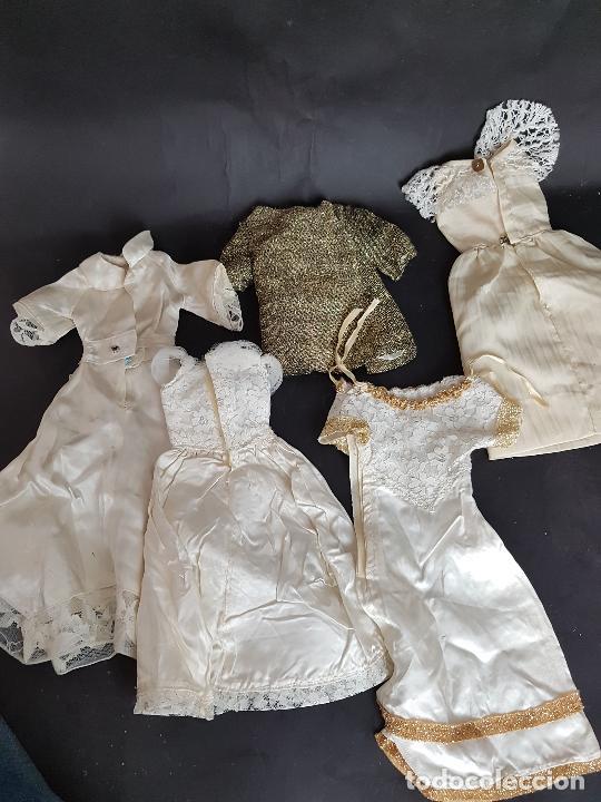 Vestidos Muñecas Españolas: Lote de vestidos caseros años 70 para nancy - Foto 14 - 289753693