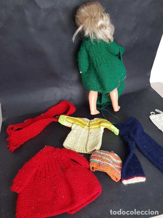 Vestidos Muñecas Españolas: Lote de ropa casera de punto para nancy años 70 - Foto 2 - 289755183