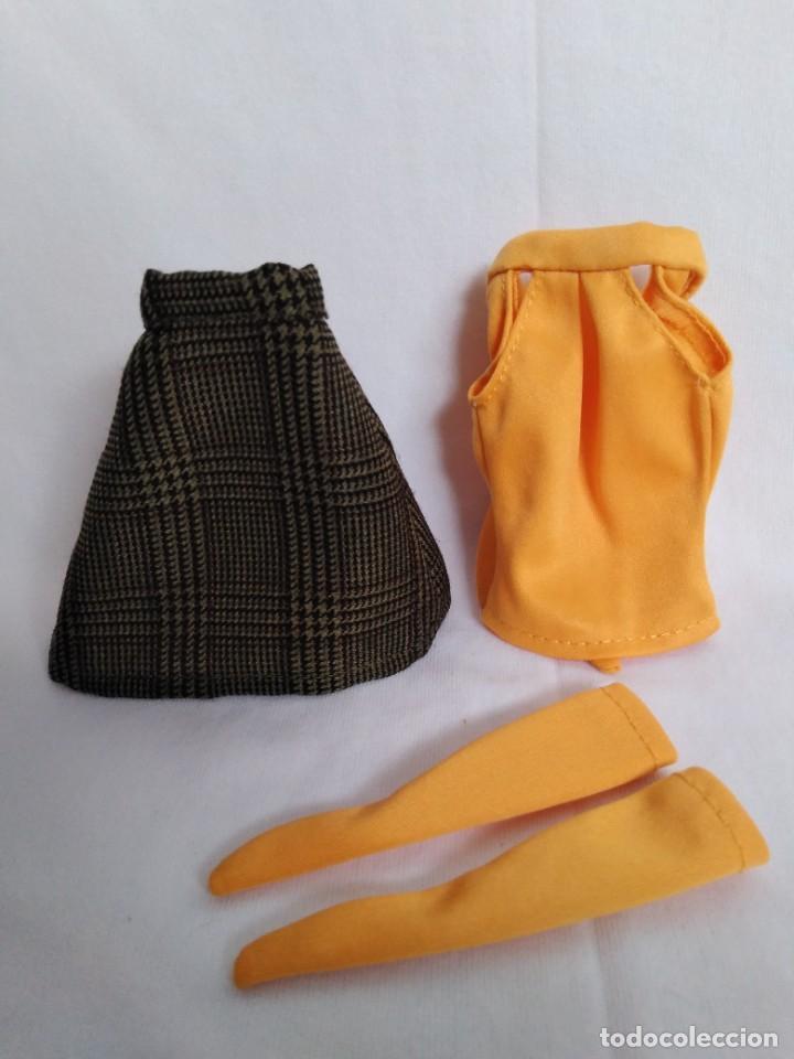 Vestidos Muñecas Españolas: Conjunto estilo vintage para Tressy mini maniquí - Foto 6 - 289764908
