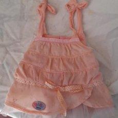 Vestidos Muñecas Españolas: VESTIDO DE BABY BORN, USADO. Lote 290693888