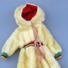 Vestidos Muñecas Españolas: BUZO POLAR NIEVE BABY MOCOSETE TOYSE AÑOS 70. Lote 297027038