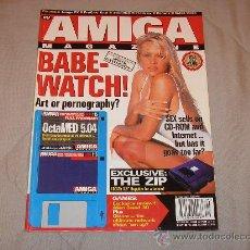Videojuegos y Consolas: COMMODORE AMIGA REVISTA CU AMIGA MAGAZINE SEPTEMBER 1995 PAMELA ANDERSON ORDENADOR RETRO 16 BITS. Lote 27123407