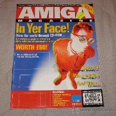 Videojuegos y Consolas: COMMODORE AMIGA REVISTA CU AMIGA MAGAZINE NOVEMBER 1995 ORDENADORES VINTAGE 16 BITS RETRO REVISTA. Lote 27123412