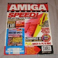 Videojuegos y Consolas: COMMODORE AMIGA REVISTA CU AMIGA MAGAZINE FEBRUARY 1995 ORDENADORES VINTAGE 16 BITS RETRO A1200. Lote 27123414