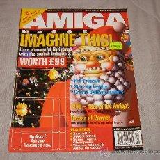 Videojuegos y Consolas: COMMODORE AMIGA CU AMIGA MAGAZINE XMAS SPECIAL JANUARY 1996 REVISTA ORDENADOR VINTAGE 16 BITS RETRO. Lote 27123384