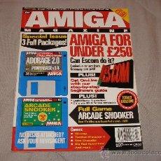 Videojuegos y Consolas: COMMODORE AMIGA CU AMIGA MAGAZINE JULY 1995 REVISTA ORDENADORES VINTAGE 16 BITS RETRO A1200 CD32. Lote 27123401