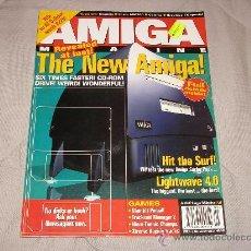 Videojuegos y Consolas: COMMODORE AMIGA CU MAGAZINE THE NEW AMIGA COMPUTER! 1996 VINTAGE REVISTA ORDENADOR 16 BITS RETRO. Lote 27123400