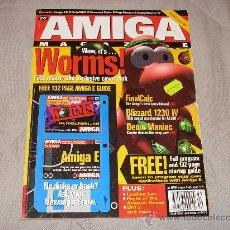 Videojuegos y Consolas: COMMODORE AMIGA CU AMIGA MAGAZINE DECEMBER 1995 REVISTA ORDENADORES VINTAGE WORMS 16 BITS RETRO. Lote 27123419