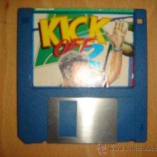 Videojuegos y Consolas: DISKETE 3,5 PULGADAS AMIGA SPECTRUM JUEGO KICK OFF 2. Lote 29313869