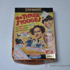 Videojuegos y Consolas: THE THREE STOOGES - CINEMAWARE - PARA AMIGA. Lote 29499642