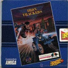 Videojuegos y Consolas: IRON TRACKERS ATARI ST. AMIGA, IBM PC Y COMPATIBLES - CON INSTRUCCIONES. Lote 30625024
