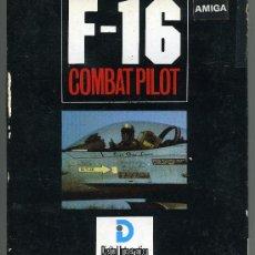 Videojuegos y Consolas: F-16 COMBAT PILOT - SIMULACION - VIDEOJUEGO PARA AMIGA CON INSTRUCCIONES. Lote 31097801