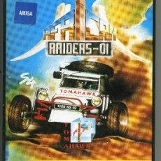 Videojuegos y Consolas: RAIDERS - 01 - VIDEOJUEGO PARA AMIGA CON INSTRUCCIONES. Lote 31098382