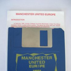 Videojuegos y Consolas: JUEGO PC - MANCHESTER UNITED EUROPE - SOFTWARE KRISALIS - 1991 - INGLÉS - INSTRUCCIONES. Lote 46386234