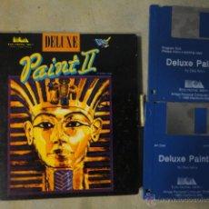 Videojuegos y Consolas: JJ JUEGO ORIGINAL AMIGA DISKETE 3,5 PAINT 2 DELUXE 1986 GRAFICOS Y PINTURAS. Lote 47443245