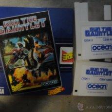 Videojuegos y Consolas: JJ JUEGO ORIGINAL AMIGA DISKETE 3,5 COMMODORE RUN THE GAUNTLET 1989. Lote 47443393
