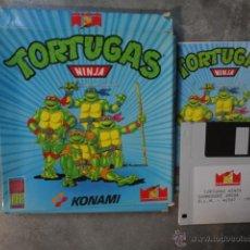 Videojuegos y Consolas: JJ JUEGO ORIGINAL DISKETE AMIGA TORTUGAS NINJA 1990. Lote 47487673