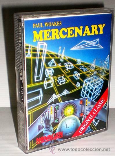 MERCENARY - ESCAPE FROM TARG (NOVAGEN 1986) [COMMODORE AMIGA] (Juguetes - Videojuegos y Consolas - Amiga)
