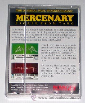 Videojuegos y Consolas: Mercenary - escape from Targ (Novagen 1986) [Commodore Amiga] - Foto 3 - 47702025