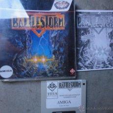 Videojuegos y Consolas: JJ JUEGO ORIGINAL DISKETE AMIGA BATTLESTORM 1991. Lote 47912043